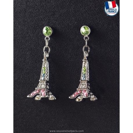 Paradise Eiffel Tower Earrings