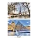 Placemat Touristique Paris