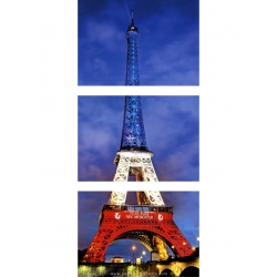 3 Postcards of the Eiffel Tower