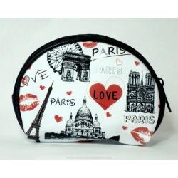 Zip wallet Paris monuments