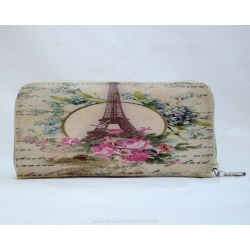 Eiffel tower eco mood wallet