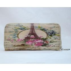 Eiffel tower eco mood wallet