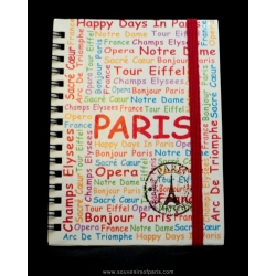 Paris writings notepad