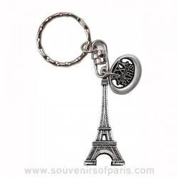 21st century Eiffel Tower Key Chain