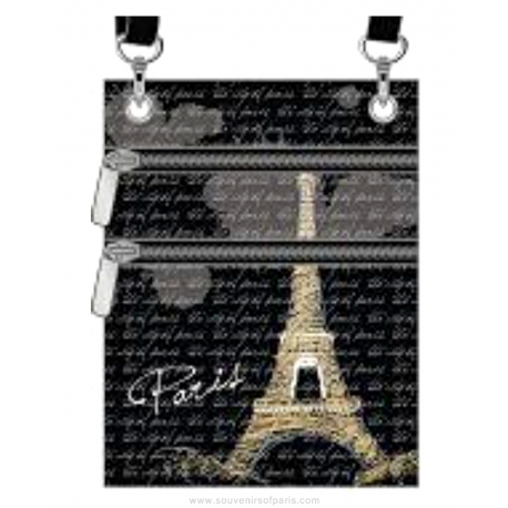 Eiffel Tower Passport Bag