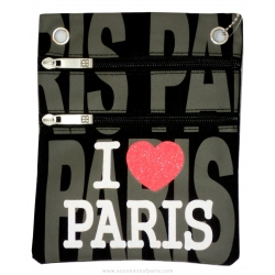 I Love paris Passport Bag