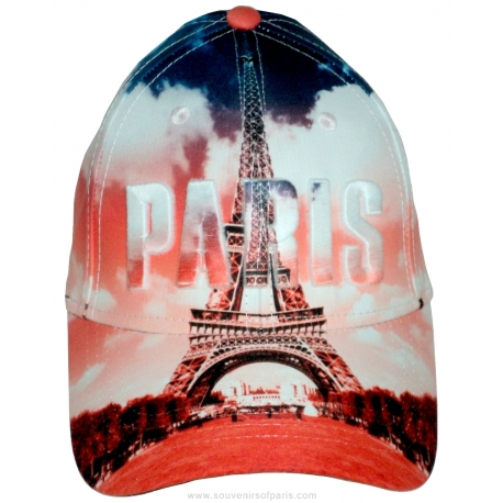 Baseball Cap Paris nuances