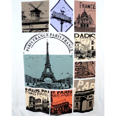 T-shirt Paris Vintage