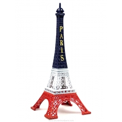 Eiffel Tower Blue/White/Red 5,9 inch
