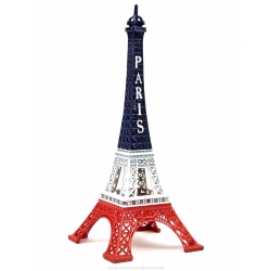 Eiffel Tower Blue/White/Red 8.66 inch (22 cm)