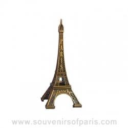 """Bronze Eiffel Tower 9.84"""" (25 cm)"""