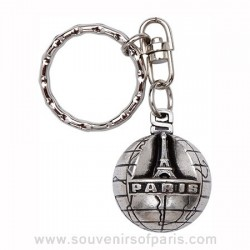 Paris World Key Chain
