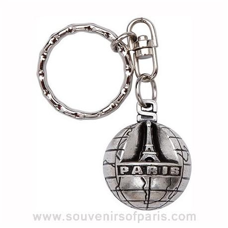 Paris World Key Chain