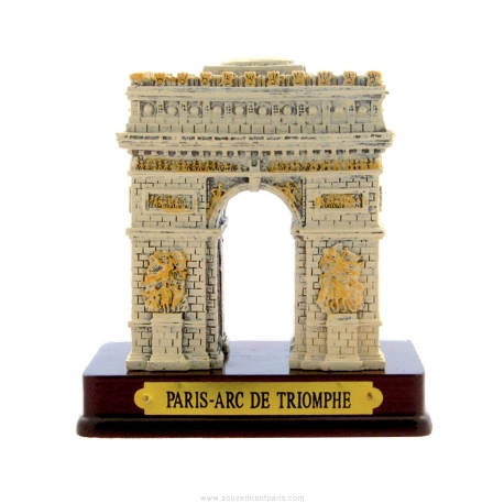 Arc of Triumph in resin - little