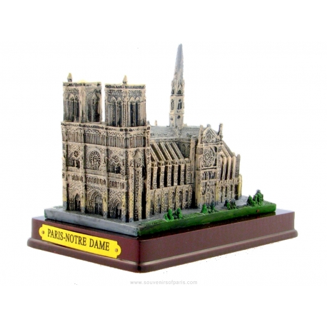 Notre-Dame of Paris in resin - Big