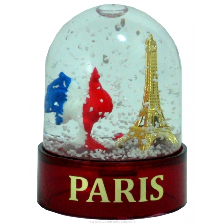 Snow globe French Rooster (little) - Made in France