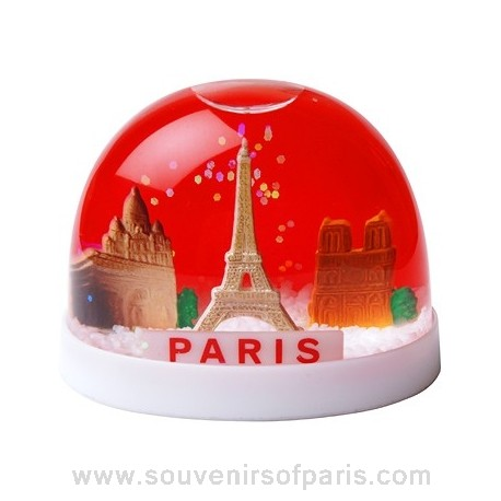 Small Paris Snowglobe