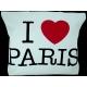 Bag tissue I Love Paris