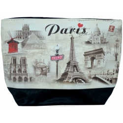 Hand Bag Paris Monuments