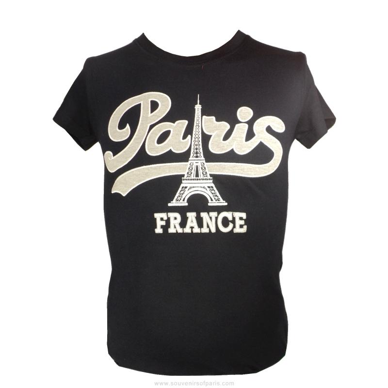 T Shirt Paris Vintage Woman Cut
