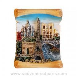 Paris Parchment Magnet