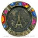 Paris Fireworks metal ashtray