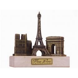 3 Monuments marble base - Notre Dame little
