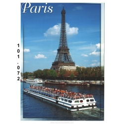 20 Postcards of Paris