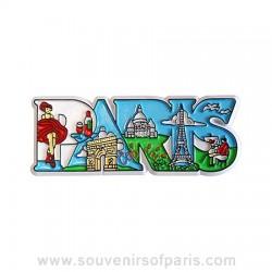 Paris Letters Magnet