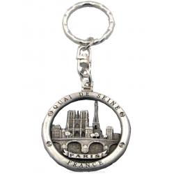 Paris Buoy Key Chain