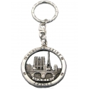 Key ring Eiffel tower and monuments Circle