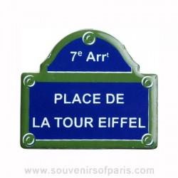 Place de la Tour Eiffel Magnet