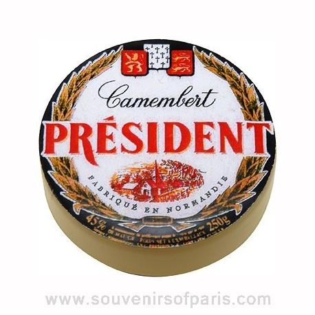 President Camembert 3D Magnet