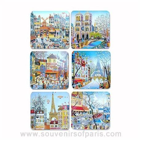 Naïve Painting Coasters