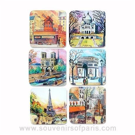 Watercolor Coasters