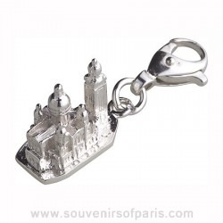 Sterling Silver Sacre Coeur Basilica Charm