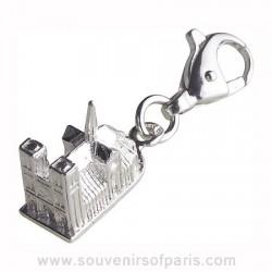 Sterling Silver Notre Dame de Paris Charm