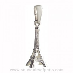 Sterling Silver Eiffel Tower Pendant