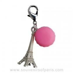 Eiffel Tower and Macaron Charm