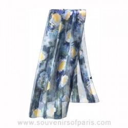"""Monet """"Waterlilies"""" Silk Scarf"""