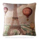 "Eiffel Tower Pillow Cover ""Zephyr"""