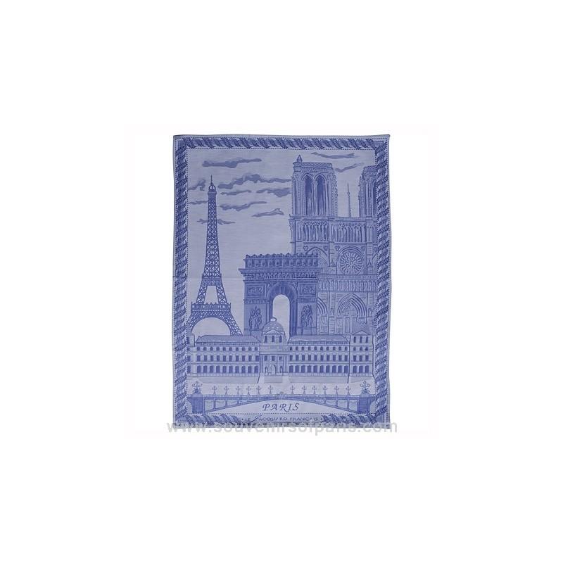 Paris Monuments Jacquard Tea Towel