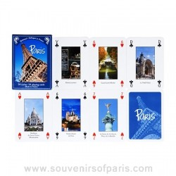 Views of Paris Playing Cards