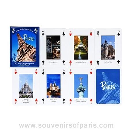 Views of Paris Playing Cards