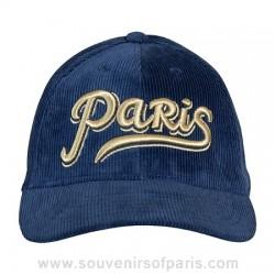 Paris Corduroy Cap