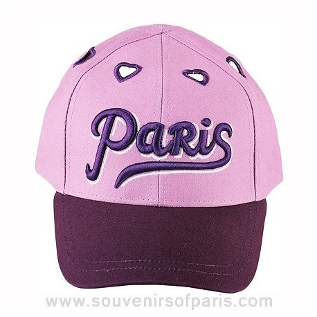 Paris Love Baseball Cap