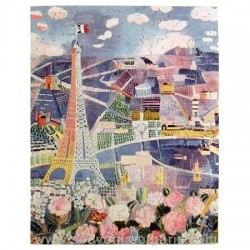 Paris in Spring Wooden Jigsaw Puzzle – Dufy