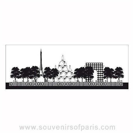 Paris Panoramic Wallcovering