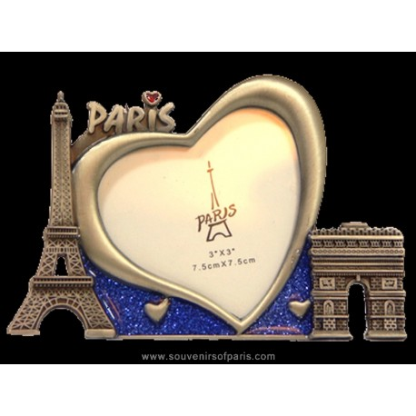 Paris heart Picture Frame