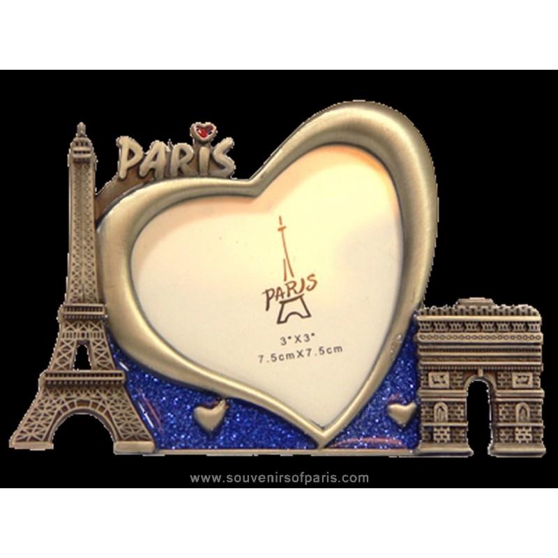 Paris Heart Picture Frame